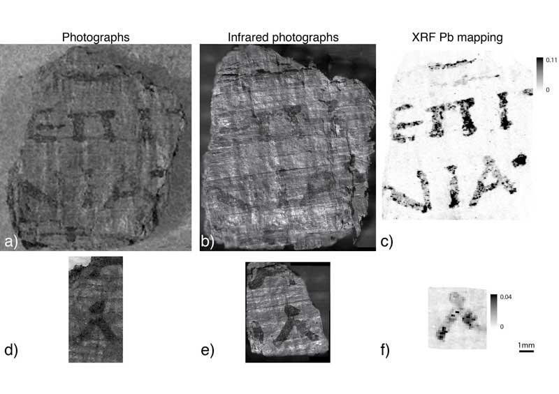 Archeologia, Cnr: scoperto l'uso dell'inchiostro metallico negli inchiostri greco latini