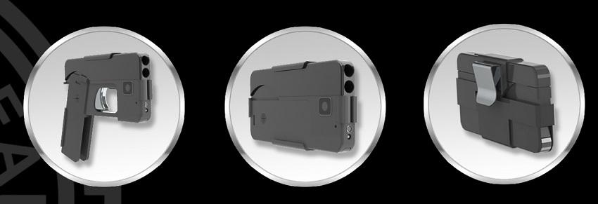 pistola smartphone