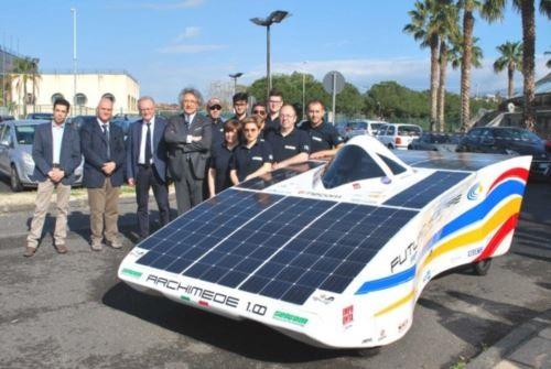 Archimede solar car 1.0 2