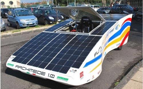 Archimede solar car 1.0