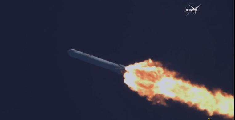 Falcon 9 launch 2016-04-08 alle 22.45.50