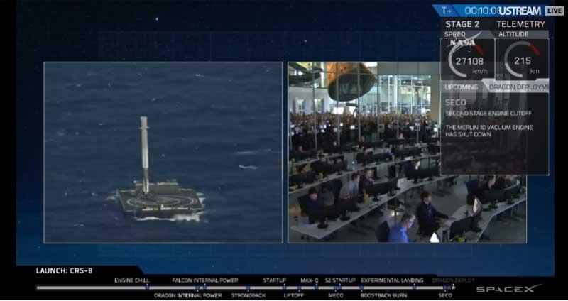 Falcon 9 launch-2016-04-08-alle-22.54