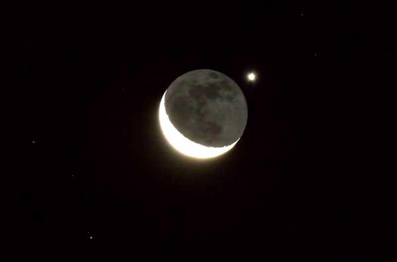 Luna occulta Venere (3)