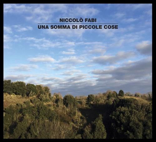 Niccolò Fabi UNA SOMMA DI PICCOLE COSE_cover_b