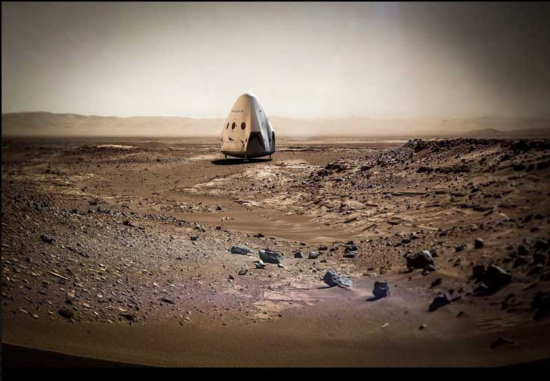 SpaceX-su-MArte