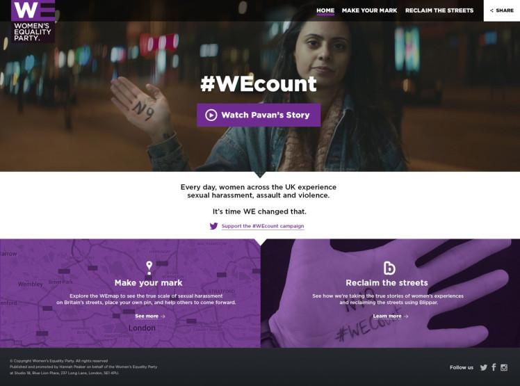 #WEcount