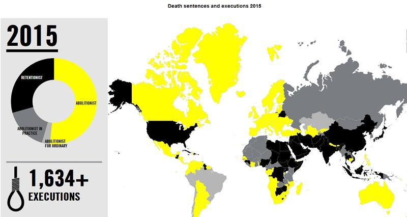 amnesty internationl pena di morte