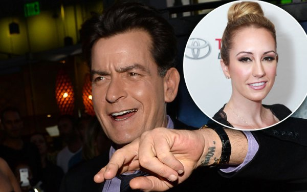 charlie sheen scottine ross