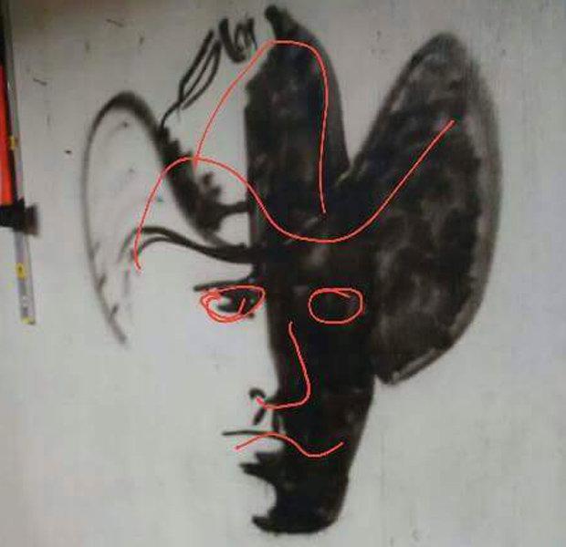 cowboy illusione ottica