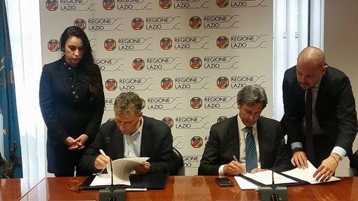 firma protocollo smeriglio e Federmanager Roma
