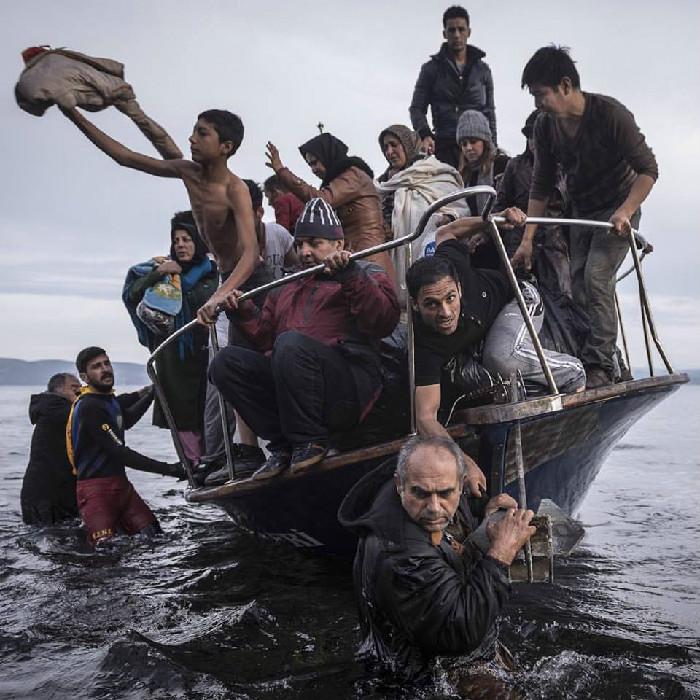 Una delle foto di Sergey Ponomarev del New York Times che ha vinto il Pulitzer per la fotografia
