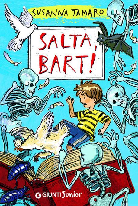 "La copertina del libro ""Salta, Bart!"" di Susanna Tamaro. ANSA"
