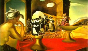 L'illusione ottica di Salvador Dalì per capire il cervello