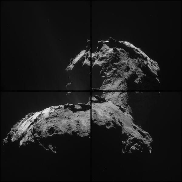 ESA_Rosetta_NAVCAM_20150106_montage