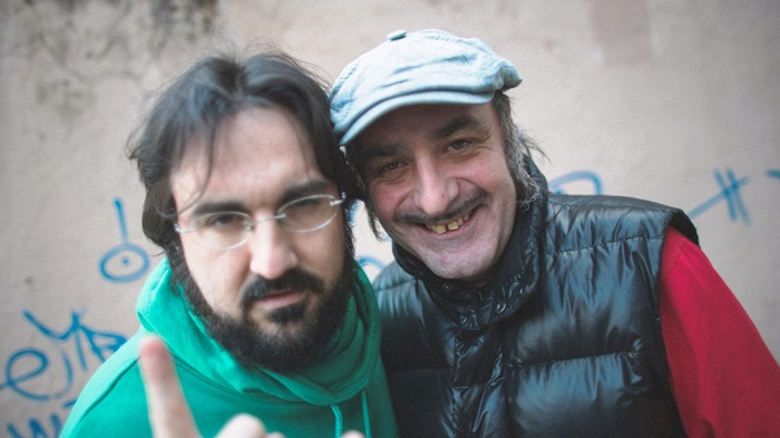 Piotta e Tonino Carotone (foto Giulio Masieri)