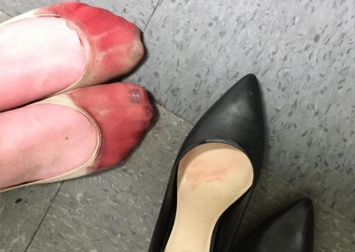 cameriera scarpe