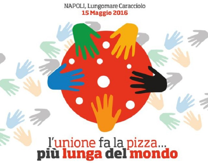 Napoli: sfida per realizzare la pizza più lunga del mondo