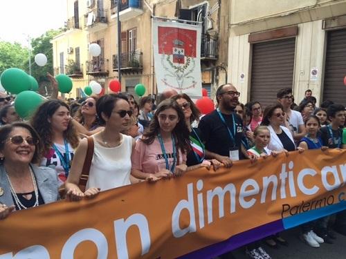 """Palermochiamaitalia, """"Palermo è nostra e non di cosa nostra"""" VIDEO"""