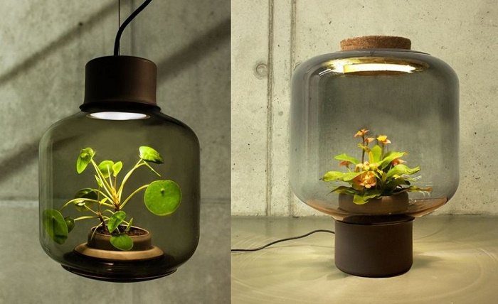 New Lamp Mygdal, le piante sposano il design