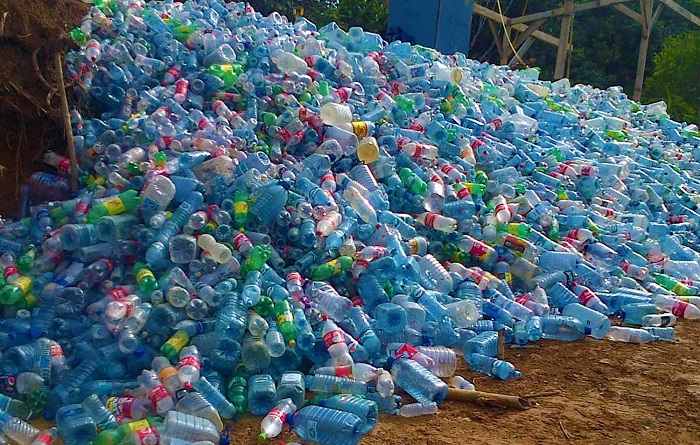 plastic-bottle-village-materials