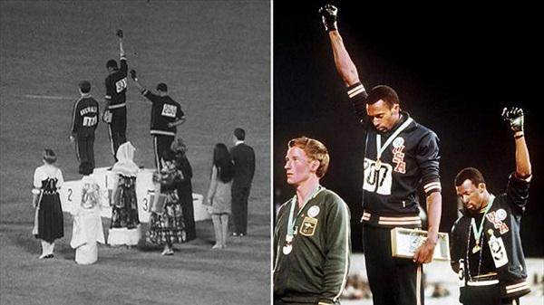 protesta alle olimpiadi