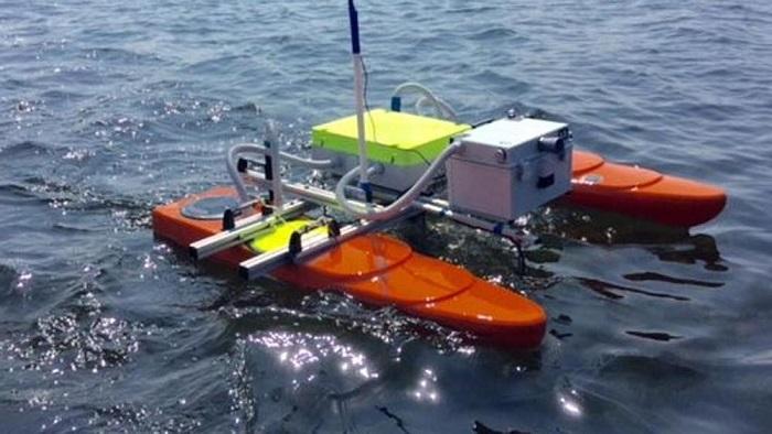 robot acquatico