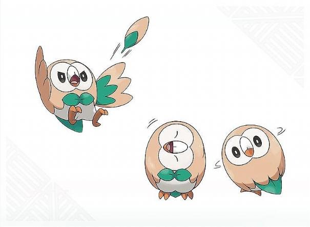 rowlet pokemon
