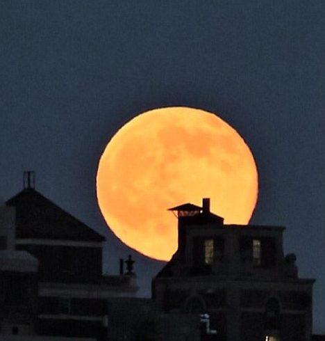 superluna del 14 novembre