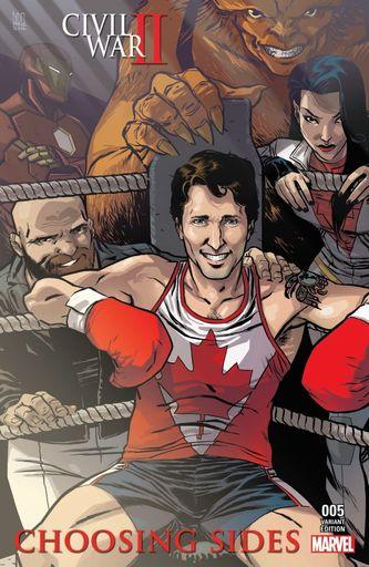 Justin Trudeau, (1)