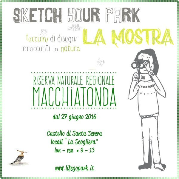 Mostra Sketch Your Park
