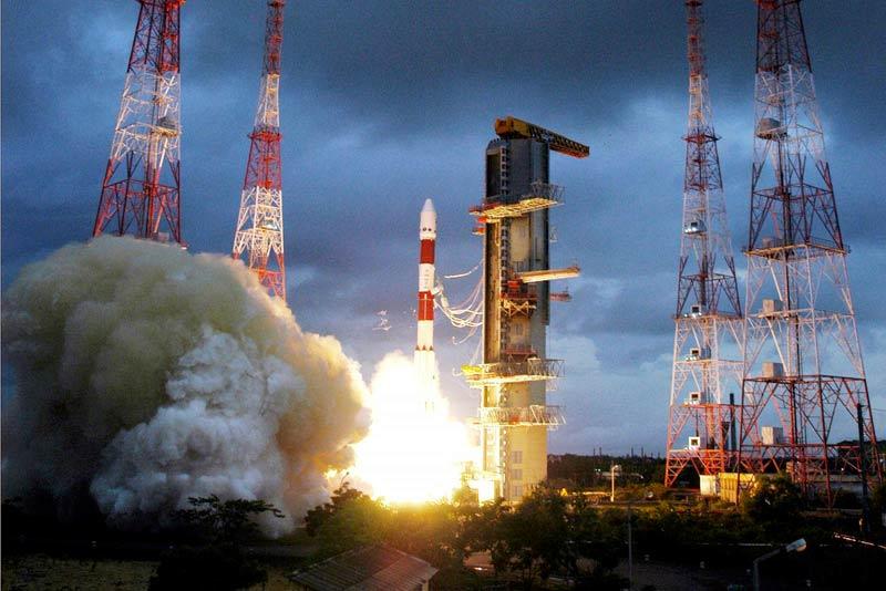 PSLV rocket launch