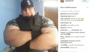 Sajad Gharibi, l'Incredibile Hulk di Persia sfida l'ISIS