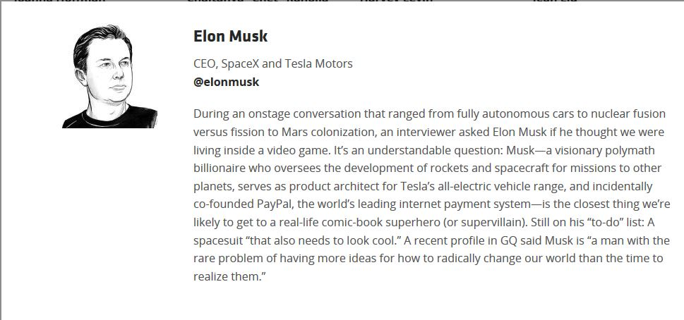 Space X Elon Musk on Code Conference