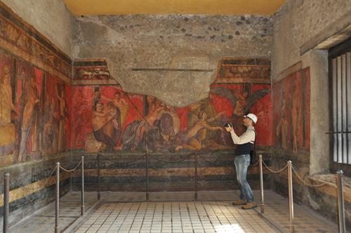 Villa dei Misteri Pompei 2
