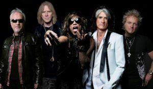 Gli Aerosmith in Europa nel 2017. In Italia data unica a Firenze