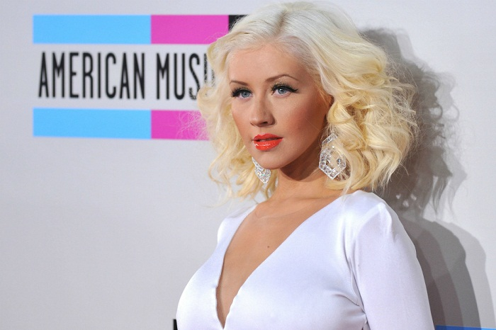 CHRISTINA AGUILERA @ the 2013 American Music awards held @ the Nokia Live. November 23, 2013