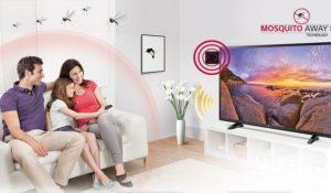Basta zampironi, LG lancia la prima Tv anti-zanzare