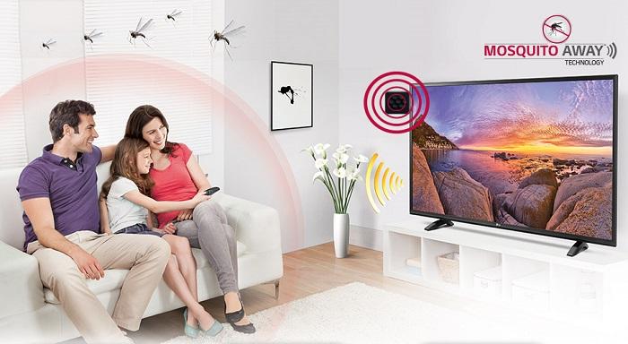 lg tv anti zanzare