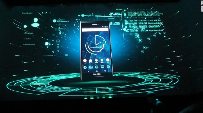 solarin smartphone