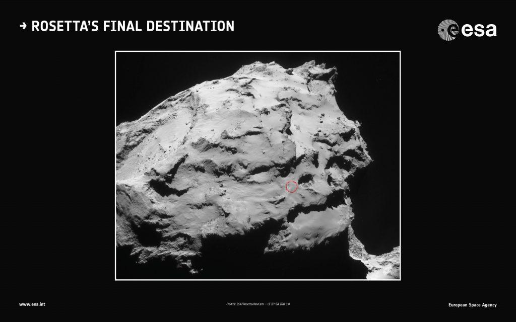 Rosetta, ultima missione