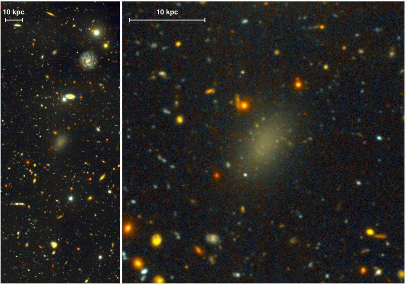 Dragonfly 44, la galassia composta dal 99,99% di materia oscura (1)