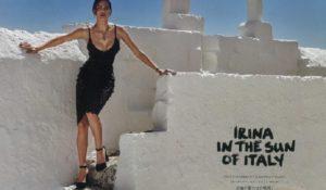 Irina Shayk, in Puglia gli scatti glamour per Vogue Japan