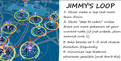 pokemon go account bannato Jimmy Derocher