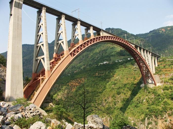 In cina il ponte pi alto del mondo il video della meraviglia for Disegni ponte veranda