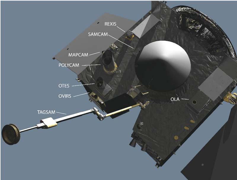 OSIRIS-REx pronto al lancio (2)