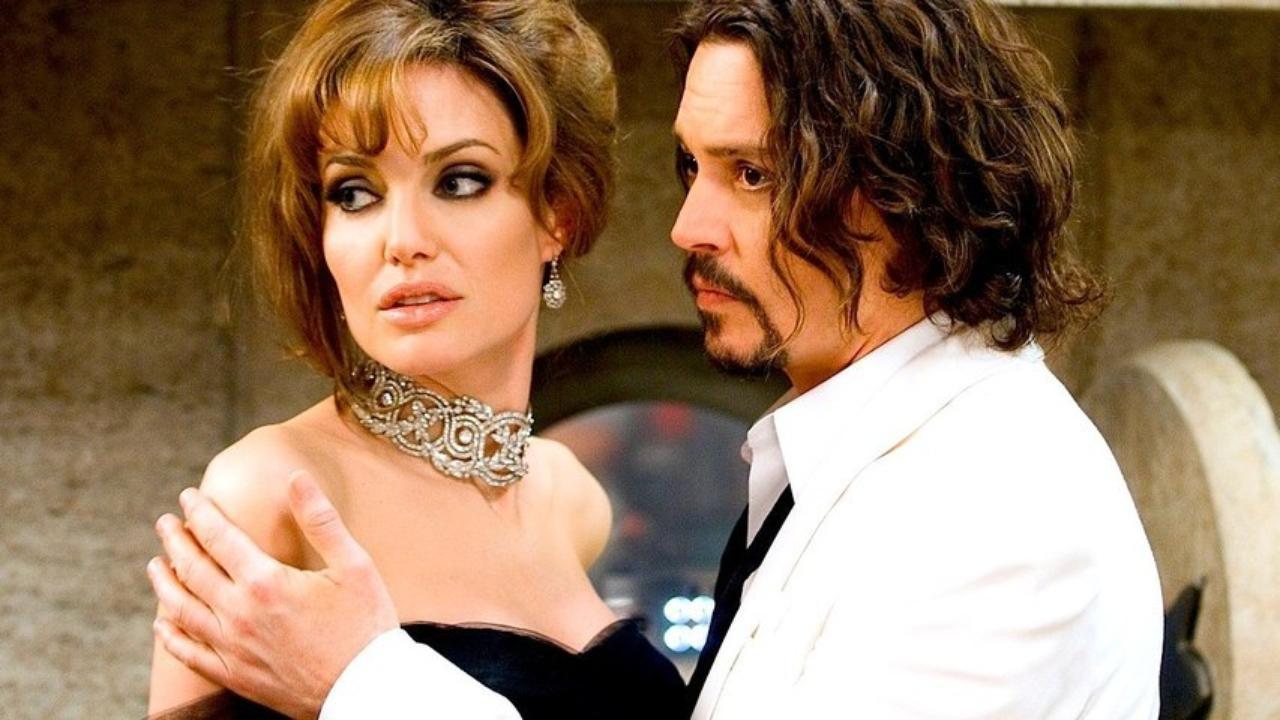 angelina jolie e johnny depp sono amanti