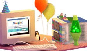Buon Compleanno Google! Gira la ruota della fortuna per i 19 anni del motore di ricerca