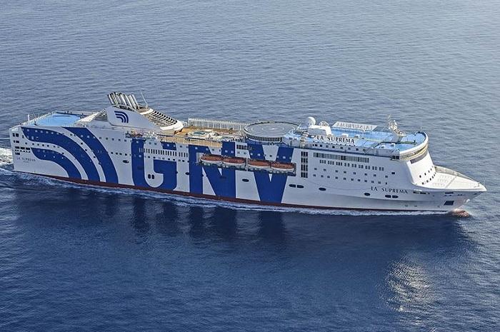 hotel on ship GNV