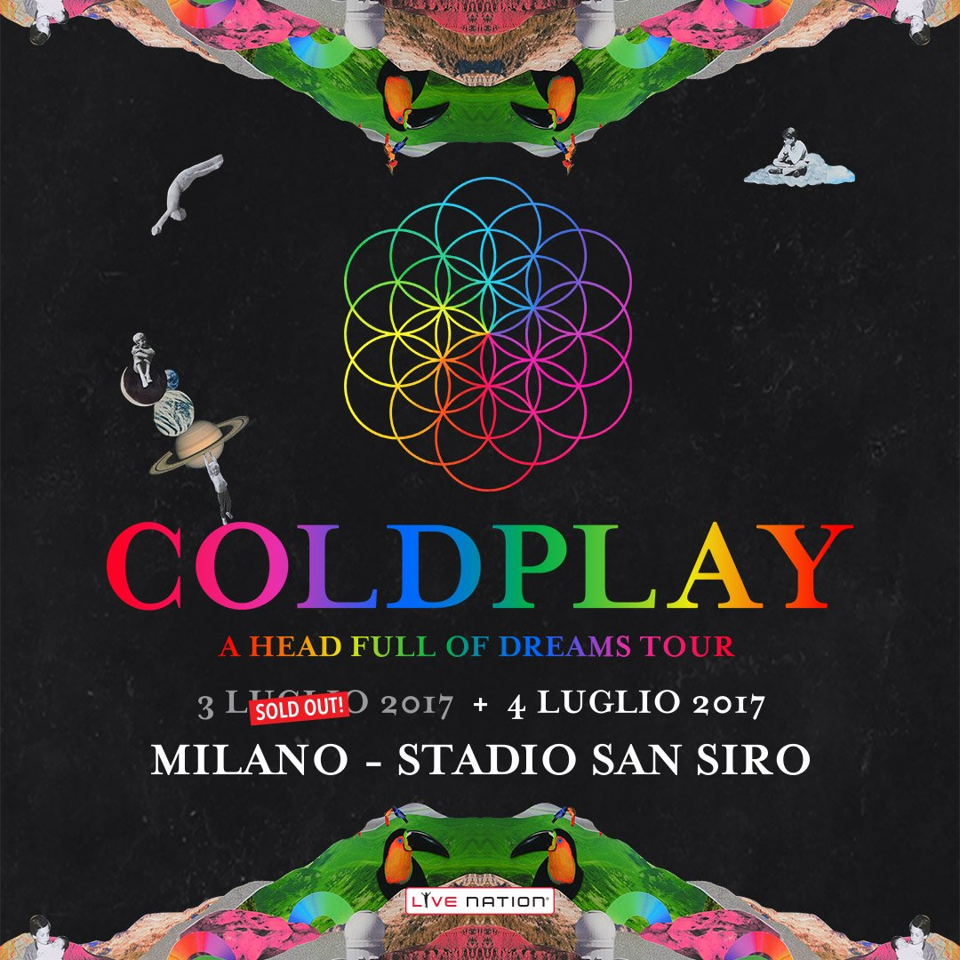 Biglietti Coldplay 2017 sold-out. E' polemica, ma arriva ...