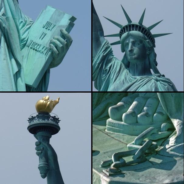 statua della liberta misure